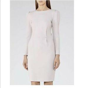 Reiss Nessa Puff Sleeve Jersey Dress 4